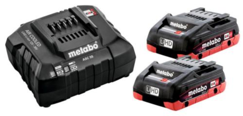 Metabo Accu pack 2 X LIHD 4.0 AH SE