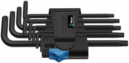 WERA 967 L/9 TORX HF 9PC