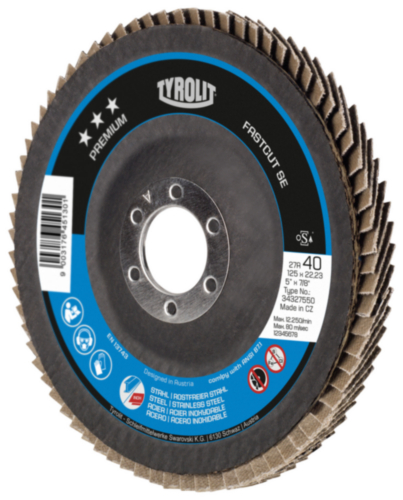 Tyrolit Flap disc 125 MM
