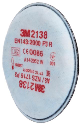3M Filter 2000 Series 2138 2138 P3 R