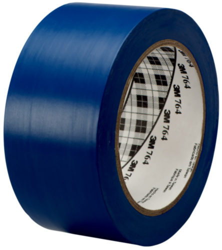 3M 764i Ruban de vinyle Bleu 50MMX33M