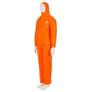 3M Eldobható munkaruha Coverall 4515 Narancssárga S
