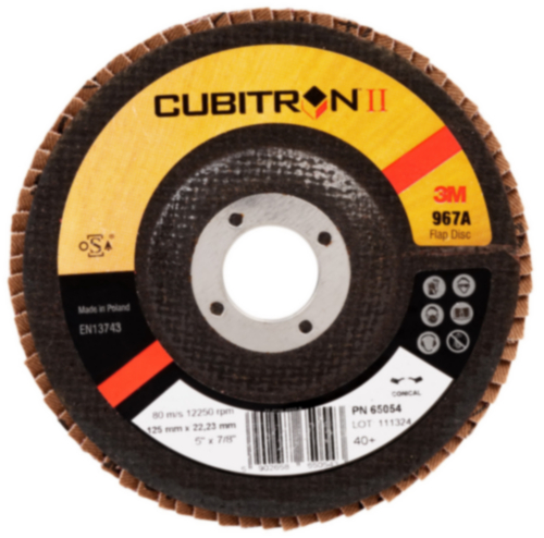 3M Flap disc P40 125X22MM
