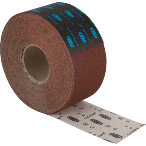 Tyrolit Sanding paper roll 115X50M K80
