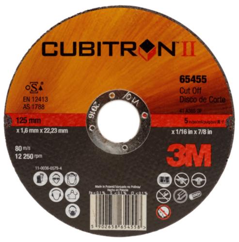 3M Cubitron™ II Tarcza do cięcia T41 125X1,6X22MM