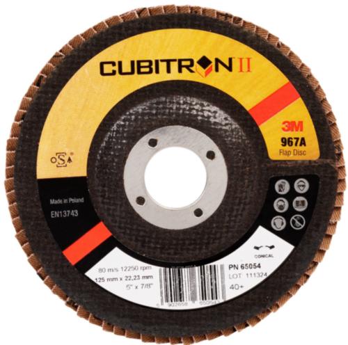 3M Cubitron II Disque à lamelles 40+ 125MM