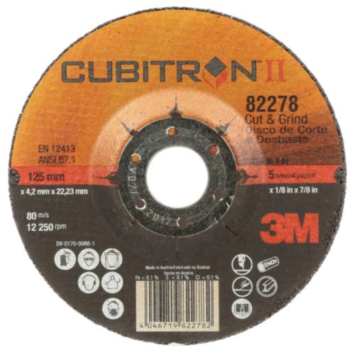 3M Cubitron II Cutting wheel 125MM