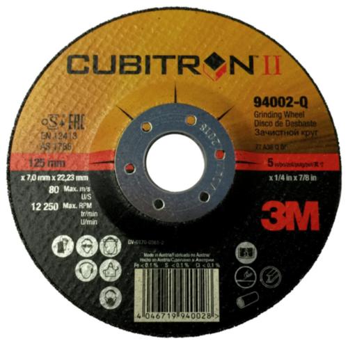3M Deburring disc 125X7X22MM