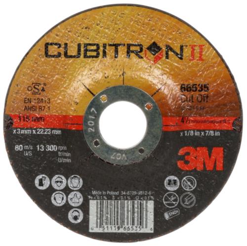 3M Cutting wheel 65512 T41 125X1X22MM