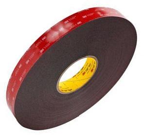 3M Tape Black 6 MM X 33 M