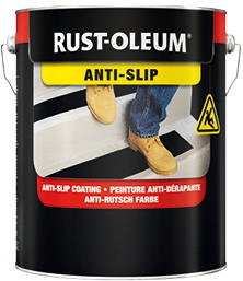 Rust-Oleum 7144 Anti-slip coating 750 Traffic yellow