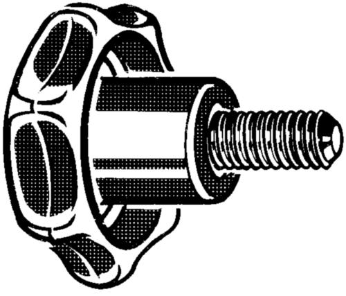 Mânere tip stea ≈DIN6336 model L