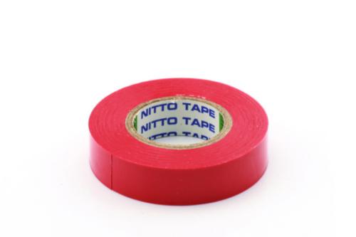 RIPC-10RL-MPVTA8R PVC TAPE 15MMX10M RD