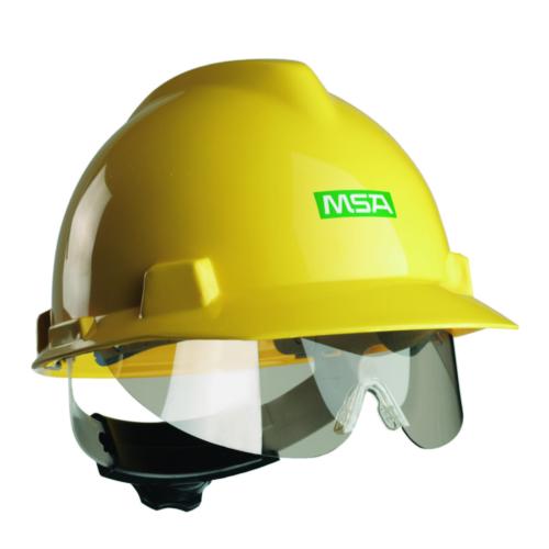 MSA Visor holder Stow-Away Transparent TRANSPARENT