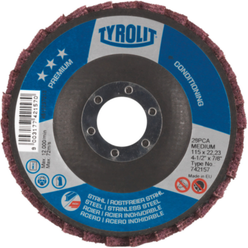 Tyrolit Conditioning disc 125X22,23