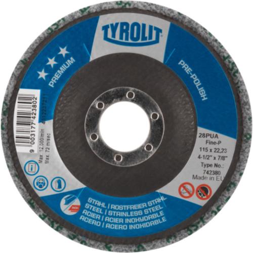 Tyrolit Disque de polissage 125X22,23