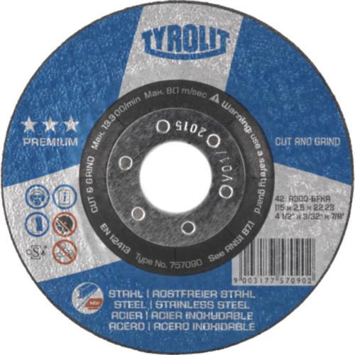 Tyrolit Cutting wheel 150X3,0X22,23