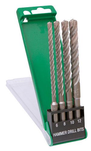 Hitachi  Drill bit set  4-CUTTERMULTIPK