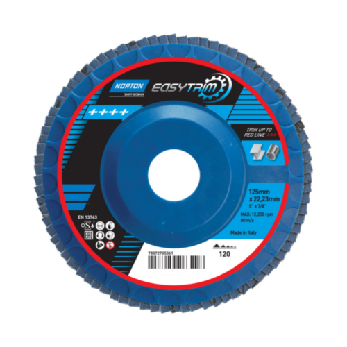 Norton Flap disc 125X22 P120
