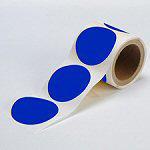 Brady Floor dots BLUE 89MM 350PC