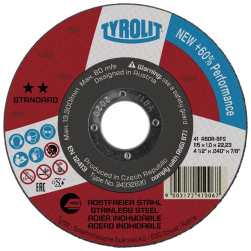 Tyrolit Disco de corte 125X1,0X22,23