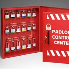 Brady Padlock controll center 18 HOOKS