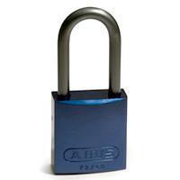 Brady Full alu padlock 40MM SHA KD BLUE 6PC