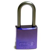 Brady Full alu padlock 40MM SHA KD PURPLE 6PC