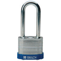 Brady Steel padlock  51MM SHA KD BLUE 6PC