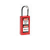 Brady Long body safety lock 1.5.IN KD RED 6PC