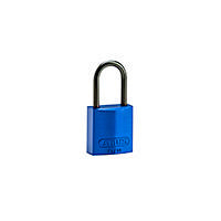 Brady Compact alu padlock 40MM KD BLUE 6PC