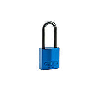 Brady Compact alu padlock 50MM KD BLUE 6PC