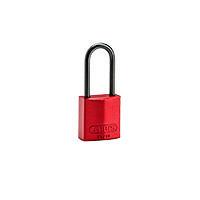 Brady Compact alu padlock 50MM KD RED 6PC