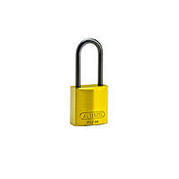 Brady Compact alu padlock 50MM KD YELLOW 6PC