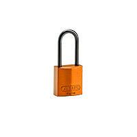 Brady Compact alu padlock 50MM KD ORANGE 6PC