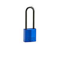 Brady Compact alu padlock 75MM KD BLUE 6PC