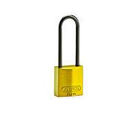Brady Compact alu padlock 75MM KD YELLOW 6PC