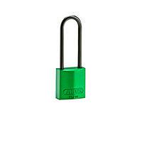 Brady Compact alu padlock 75MM KD GREEN 6PC