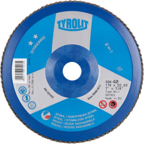 Tyrolit Disco de láminas 178X22,23 K60