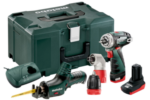 Metabo Cordless Combi set BS QUICKPRO + ASE