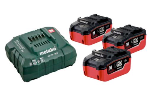Metabo Battery set basic 3X5.5 AH + ASC30-36V