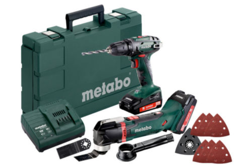 Metabo Cordless Combi set BS1 8 + MT18 LTX