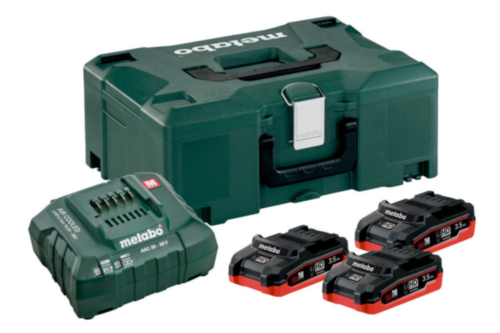 Metabo Battery set basic 3X3,5AH +ASC 30-36 V