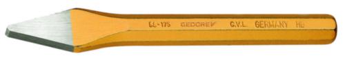 GEDO CROSS-CUT CHISEL 125X5X10MM
