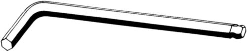 D911 ST HX SOC SCR KEY BALLDR          3