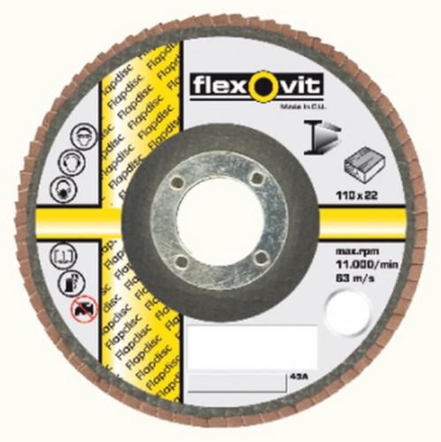 Flexovit Ściernica lamelkowa 110X22 KX300 P80