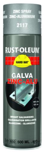 Rust-Oleum 2117 Revestimiento de zinc 500 Galva zinc-aluminio