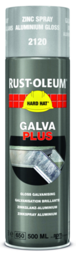 Rust-Oleum 2120 Finitions 500 Galva plus argent Metallique