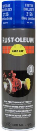 Rust-Oleum 2126 Topcoat Enciánkék RAL 5010 500 ml