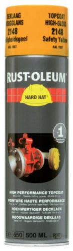 Rust-Oleum 2148 Topcoat 500 Safety yellow High-gloss